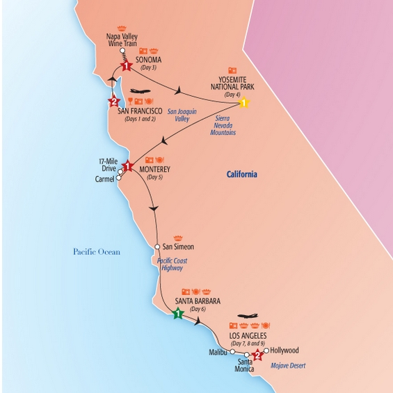 Tour California Packages