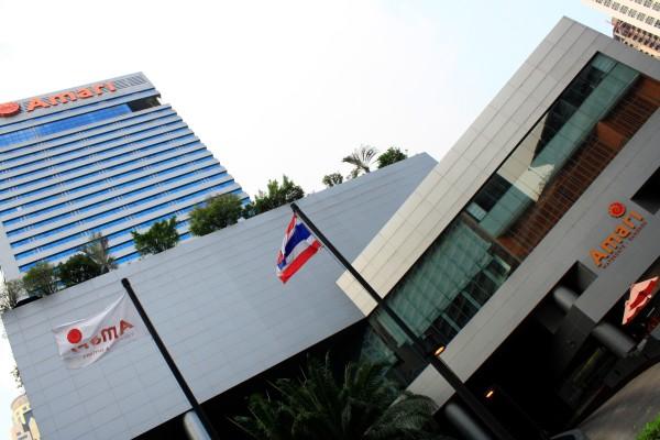 Amari Watergate, 847 Petchburi Road, Bangkok 10400