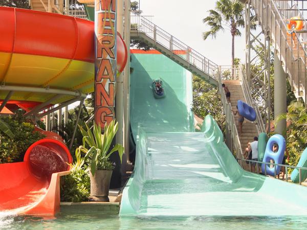 waterbom ride