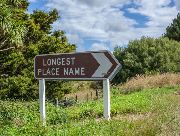 The Longest Place Name In World