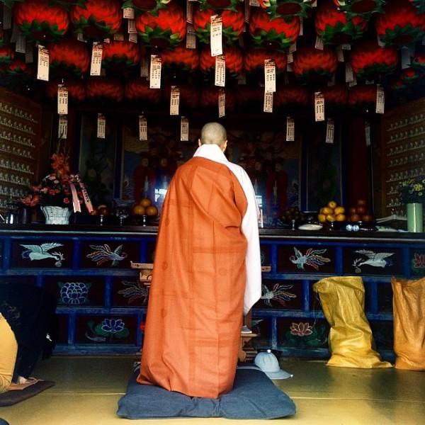 Monk in Busan