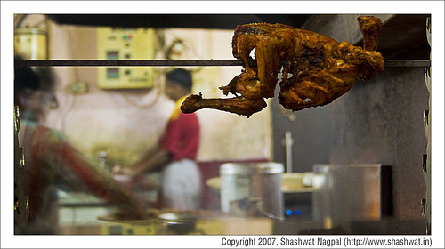 Chicken Tandoori india photo