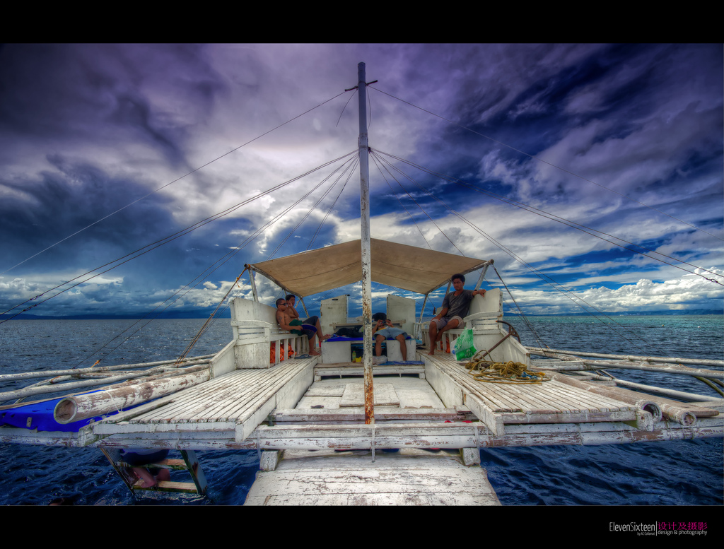 Philippine island hopping photo