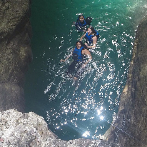 canyoneering cebu photo